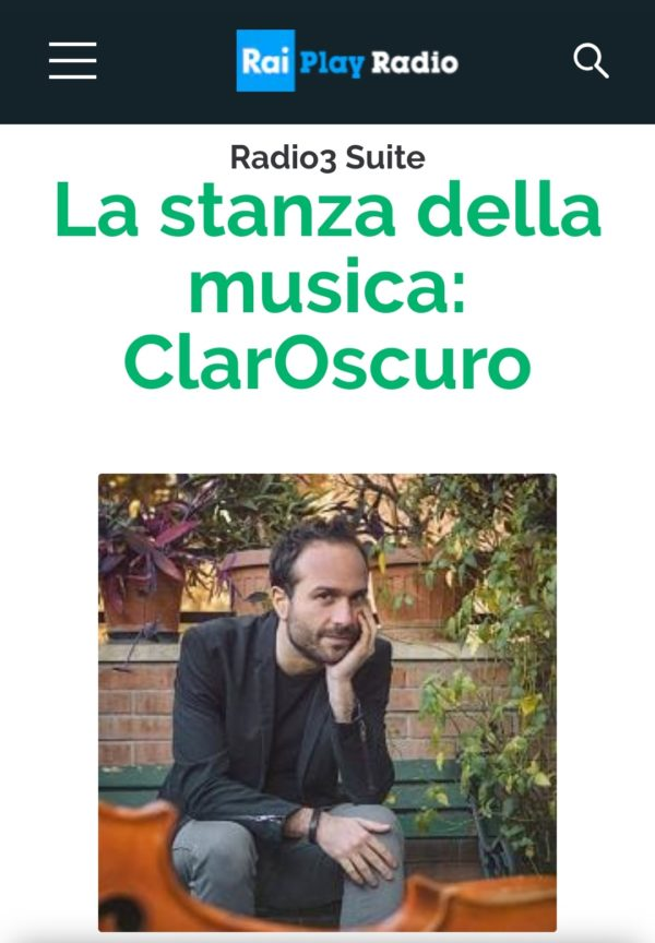 ClarOscuro Radio Broadcasting Concert / Podcast ‹ Matteo Bortone